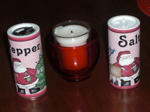 Salt and Pepper Shakers (These will be gift sets for a few friends)