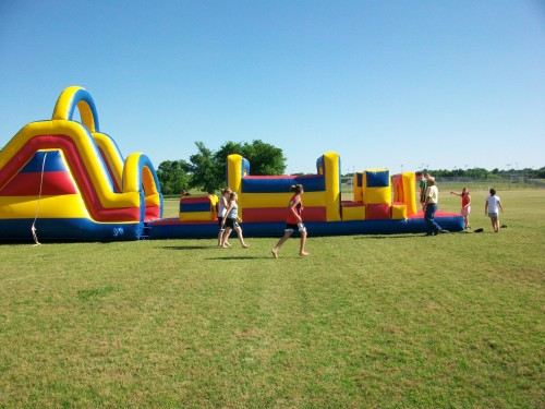 Bouncy Things For The Kids